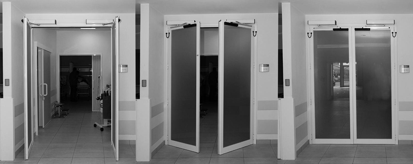 PONZI | Porte automatiche ospedaliere e per centri commerciali