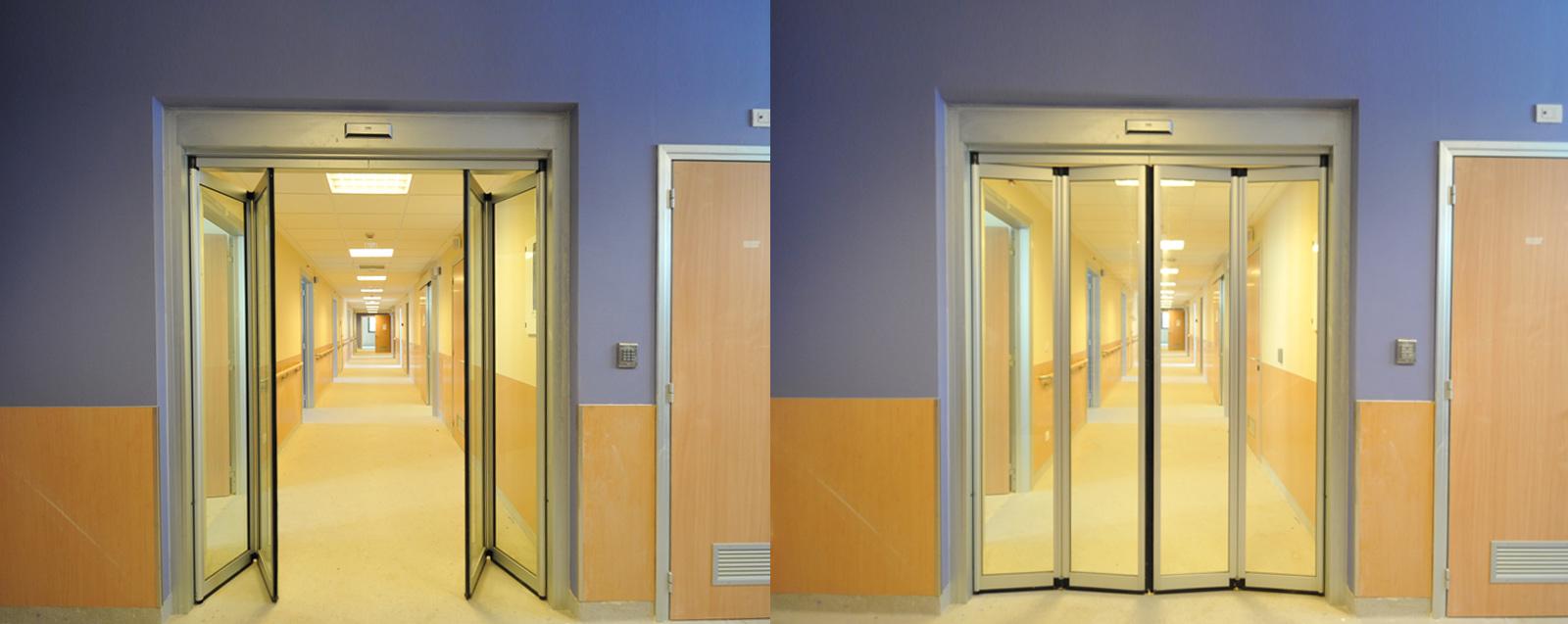 Hospital Door & PONZI   Porte automatiche ospedaliere e per centri commerciali